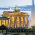 Germany, Berlin, East Berlin's Mitte district, the Brandenburg Gate